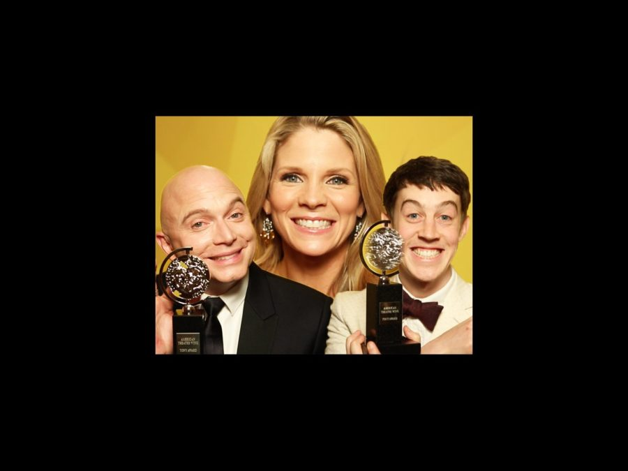 VS - Tony winners - wide - 6/15 - Michael Cerveris - Kelli O'Hara - Alex Sharp