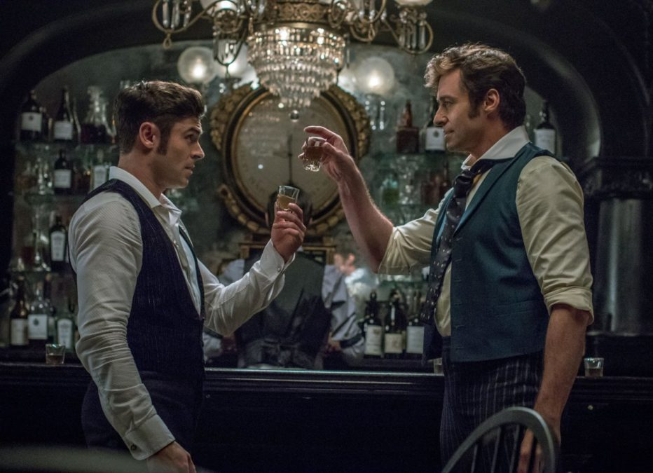 PS - The Greatest Showman - Zac Efron - Hugh Jackman - 6/17 - Niko Tavernise/FOX