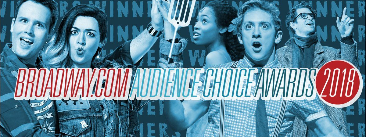 LI - Broadway.com Audience Choice Awards - WINNERS - 5/19 -