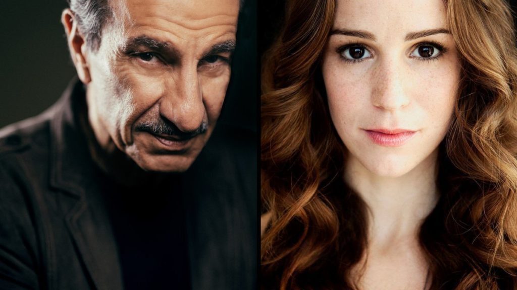 Sasson Gabay and Chilina Kennedy - 5/19 - Emilio Madrid-Kuser and C/O Bond Theatrical Group