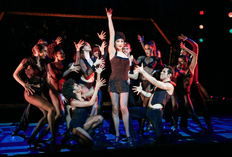 """Scene from CHICAGO Velma Kelly and Company performing """"All That Jazz"""""""