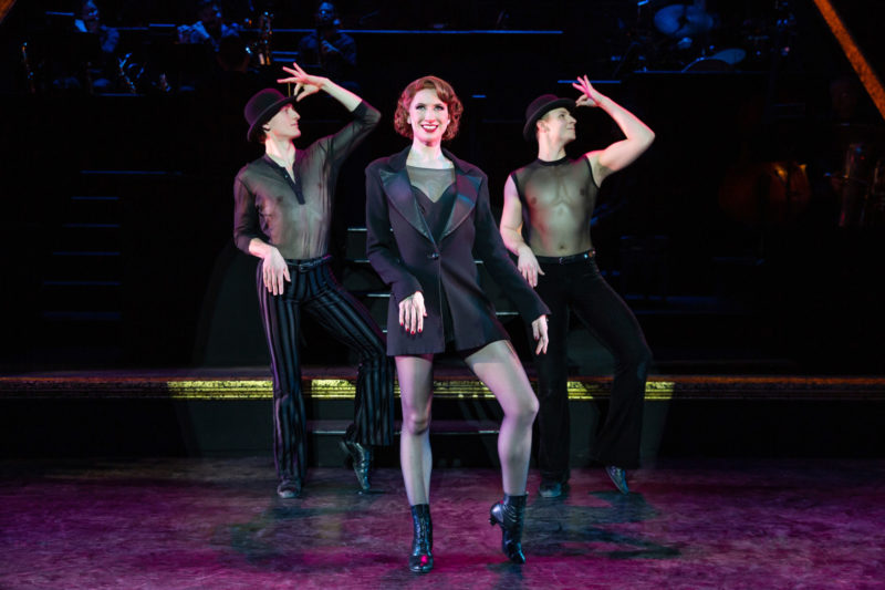 """Scene from CHICAGO Roxie Hart and Company performing """"Me and My Baby"""""""