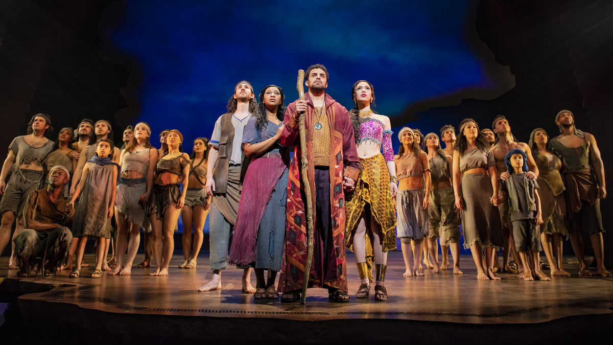 PS - The Prince of Egypt - London - Silas Wyatt-Burke - Alexia Khadime - Luke Kirby - Christine Allado - 02/2020 - Matt Crockett