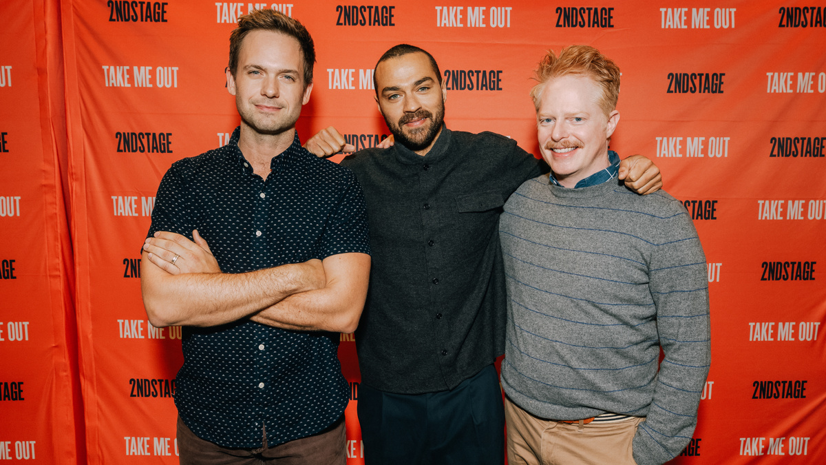 Take Me Out - Broadway - Presser - Patrick Adams