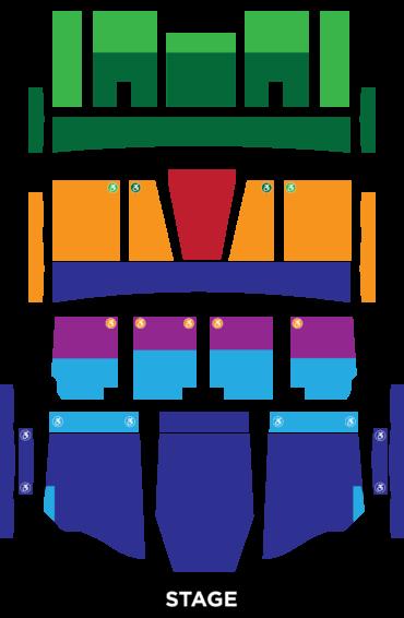 Au-Rene Hall Seating Chart